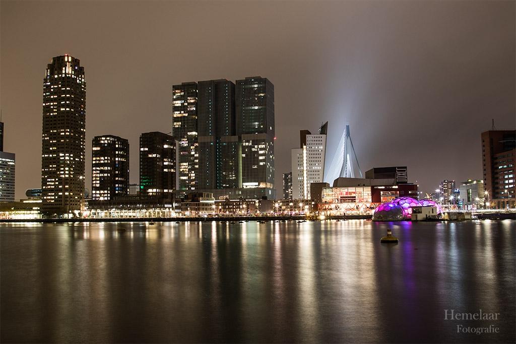 De Rotterdammer en Erasmusbrug
